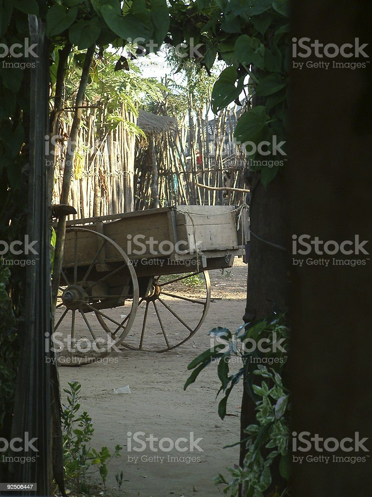 Cart-wheel royalty-free stock photo