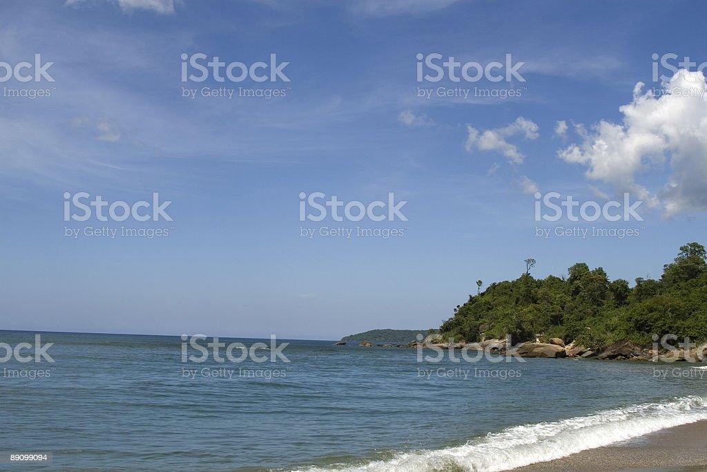 Caruao´s Beach royalty-free stock photo