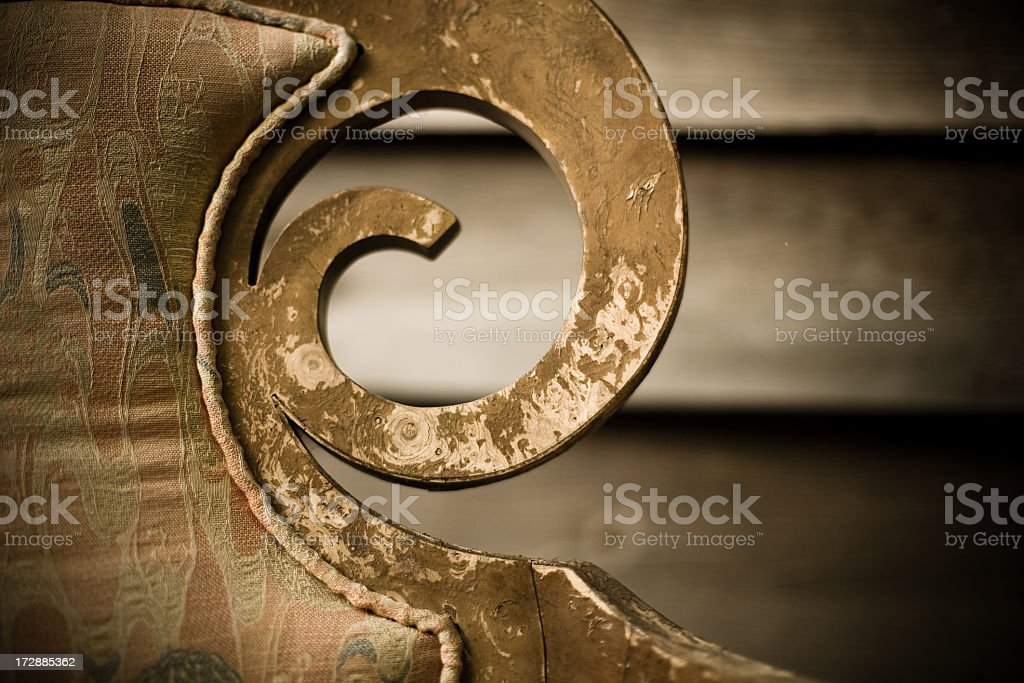 Carved Close-Up royalty-free stock photo