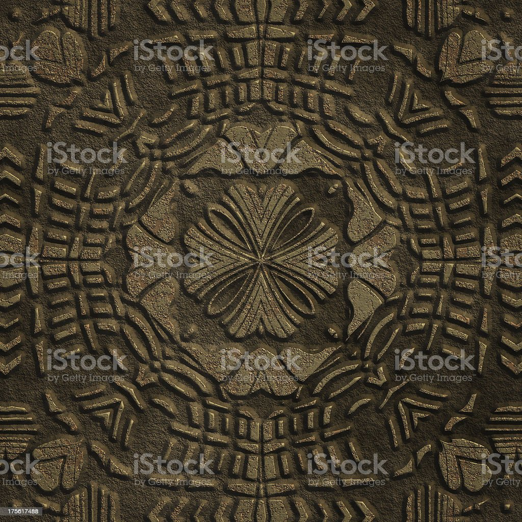 Carved medieval floor seamless texture stock photo more pictures