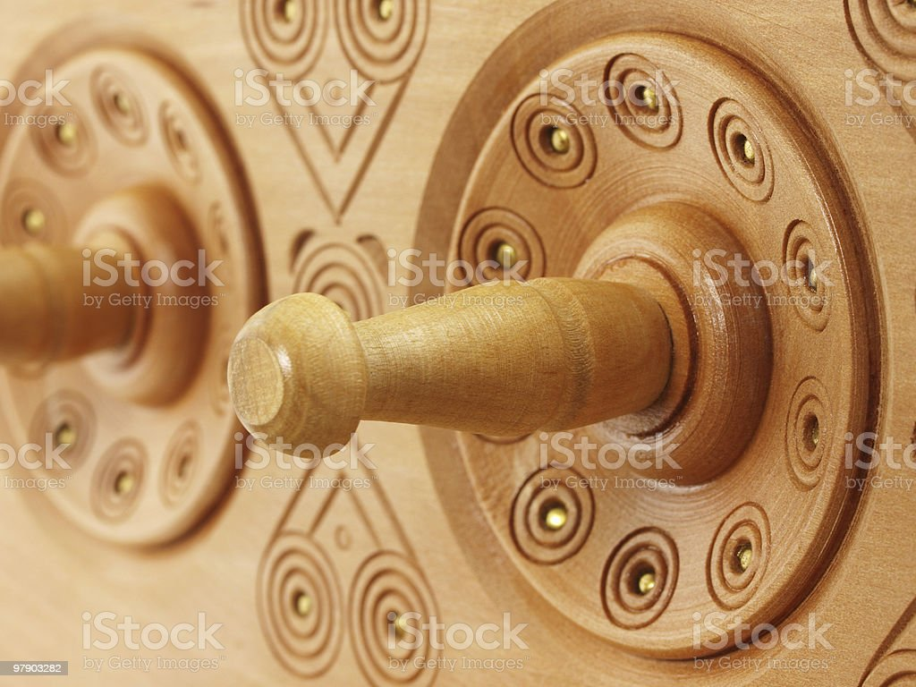 Carving rack royalty-free stock photo