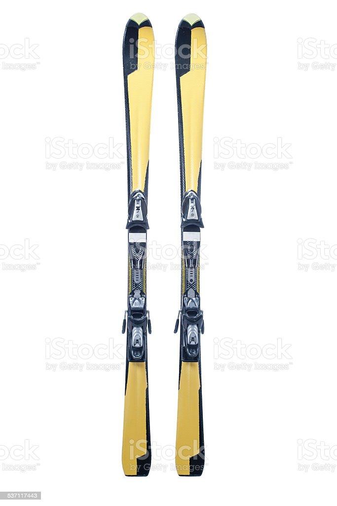 Carving ski stock photo