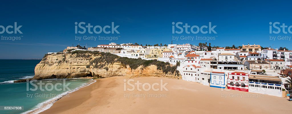 Carvoeiro Algarve stock photo