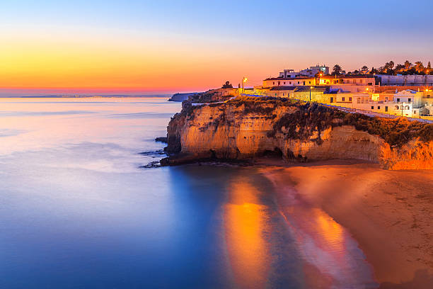Carvoeiro in Algarve region, Portugal, Europe - foto de stock