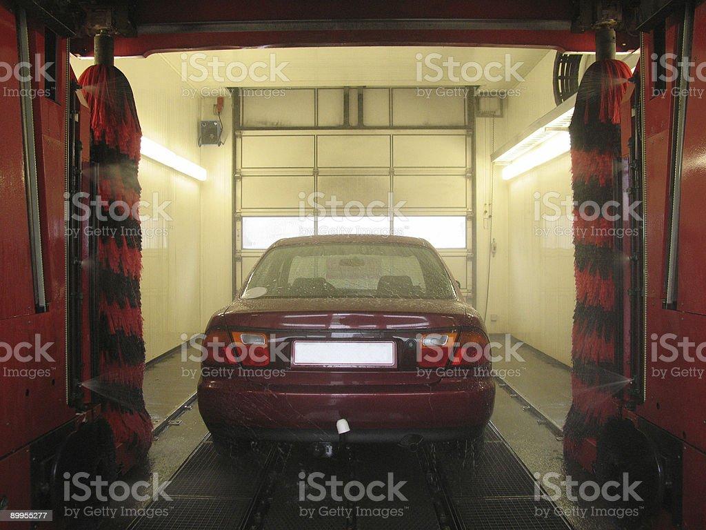 Carwash royalty-free stock photo