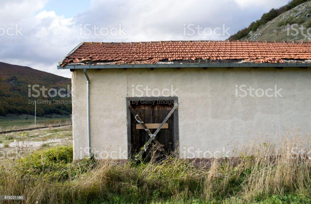 casa abbandonata royalty-free stock photo