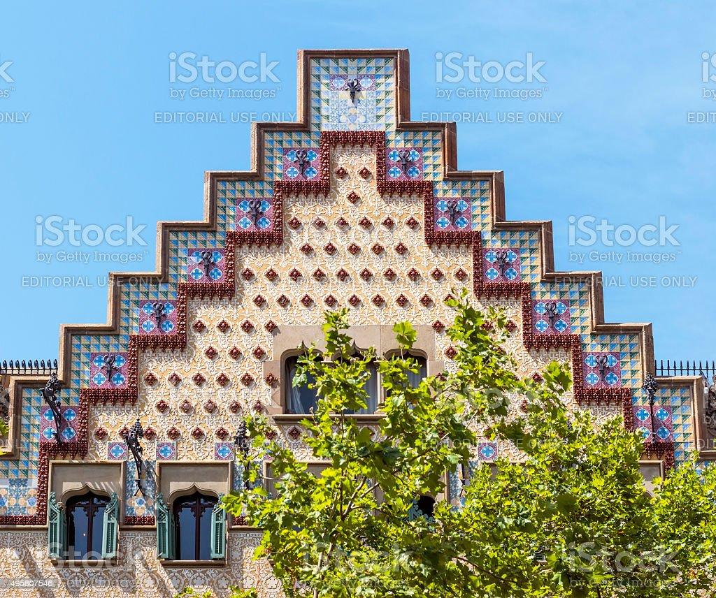 Casa Ametller - Barcelona Spain stock photo