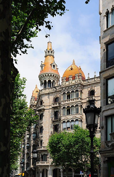 Casa Bassegoda building in Barcelona