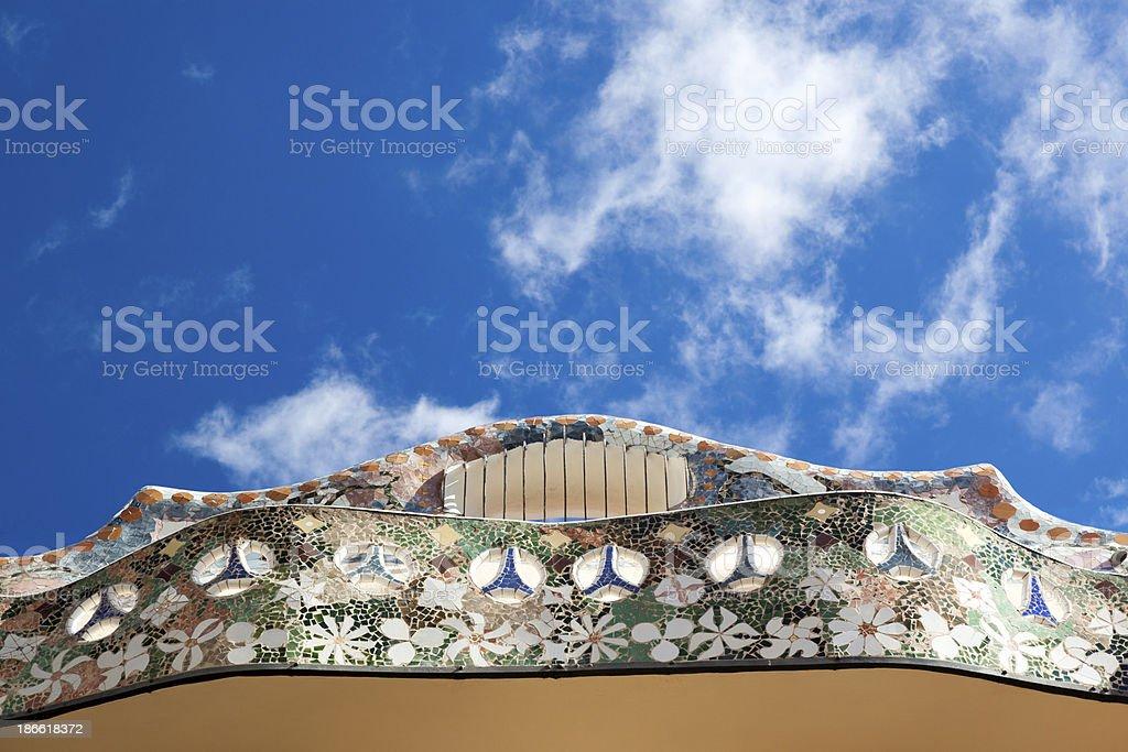 Casa Batllo, Barcelona, Spain royalty-free stock photo