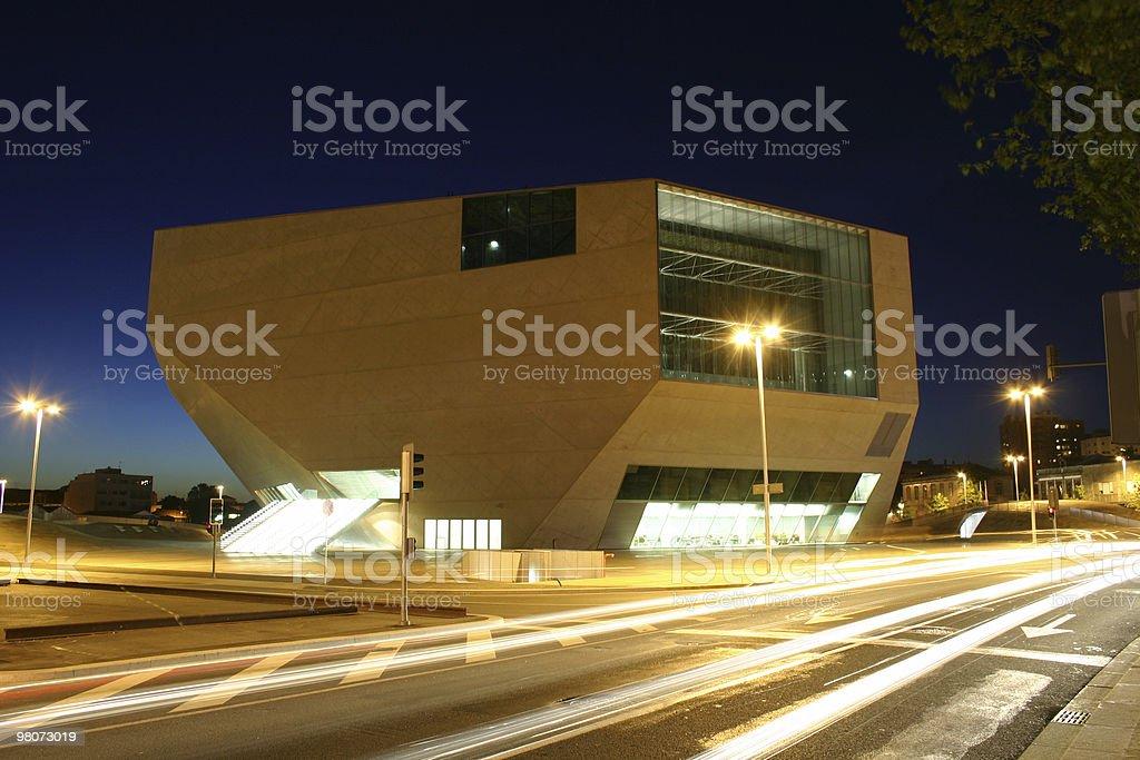 Casa da Música royalty-free stock photo
