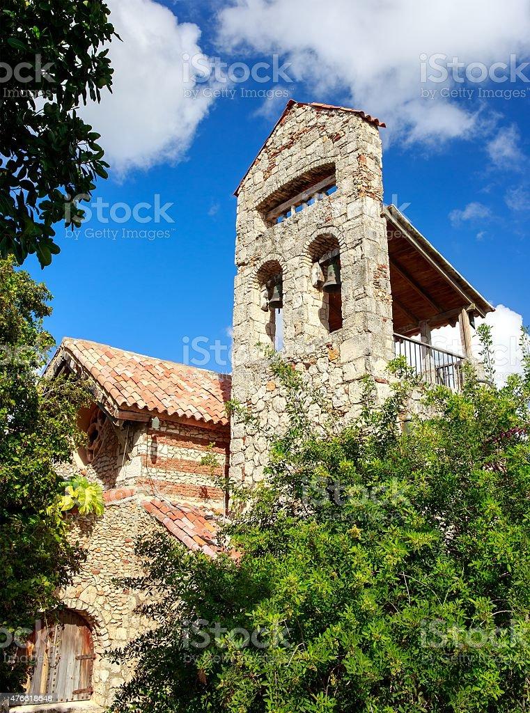 Casa de Campo bell tower stock photo