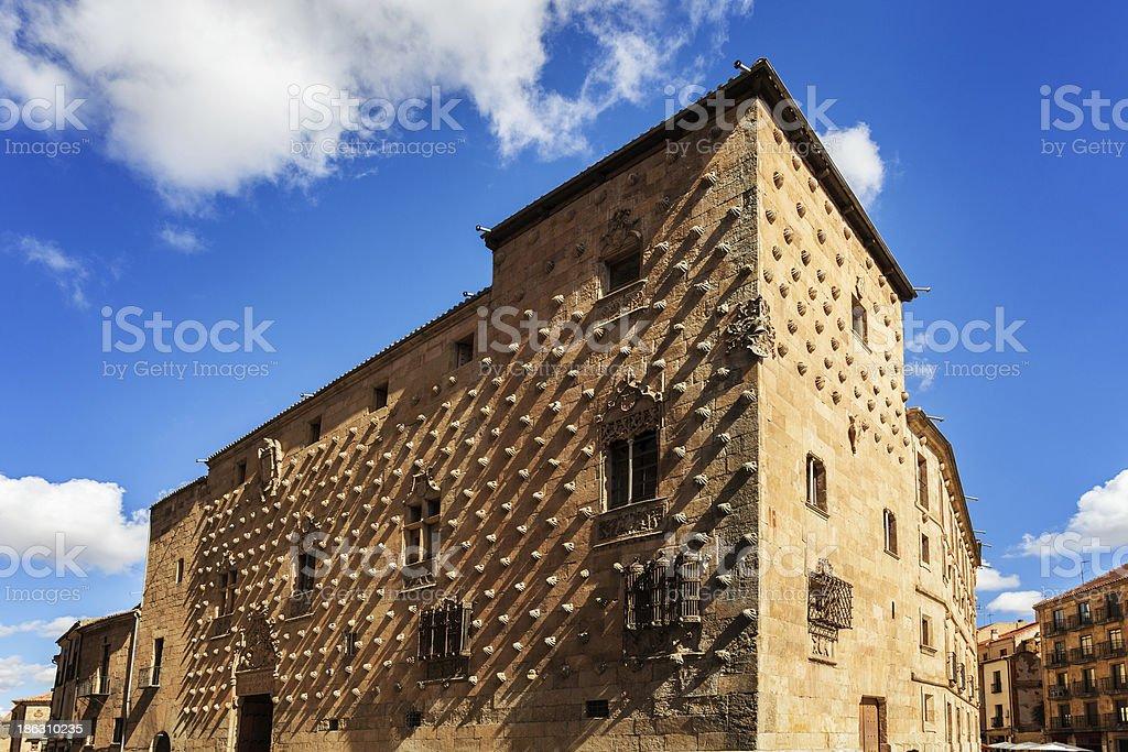 Casa de la Conchas stock photo