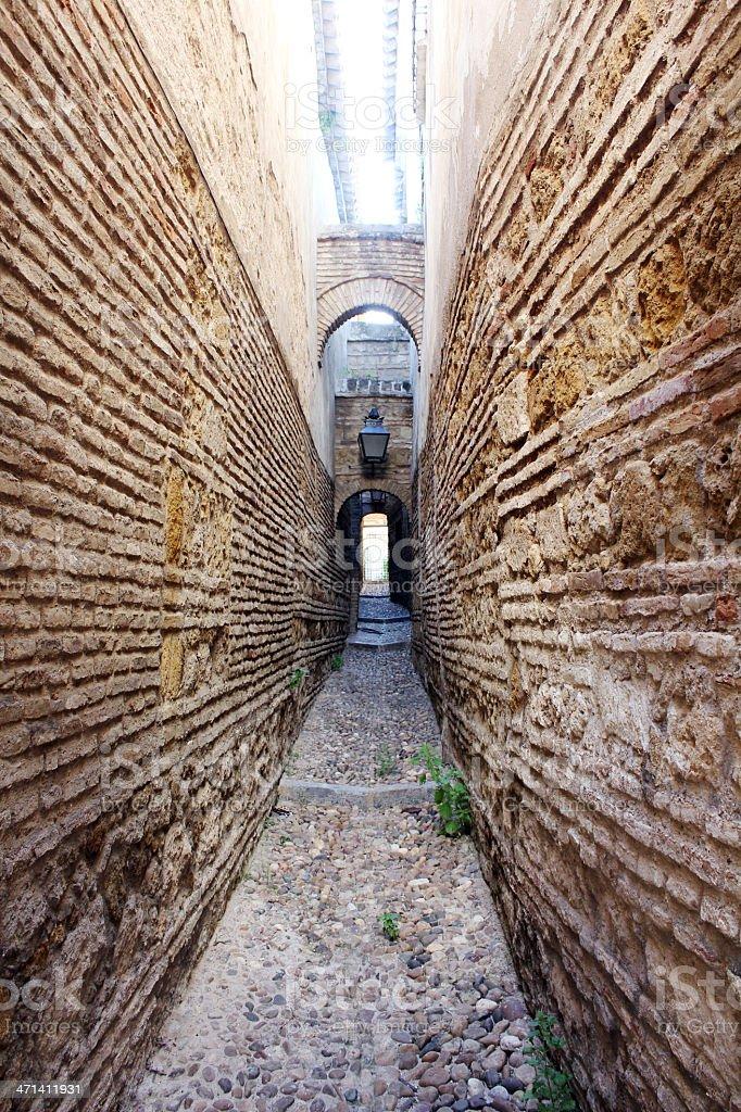 'Casa de las Cabezas' in Córdoba - Spain stock photo