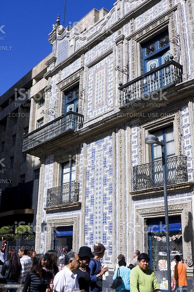 Casa de los Azulejos royalty-free stock photo