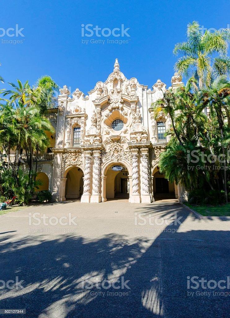 Casa Del Prado, Balboa Park stock photo