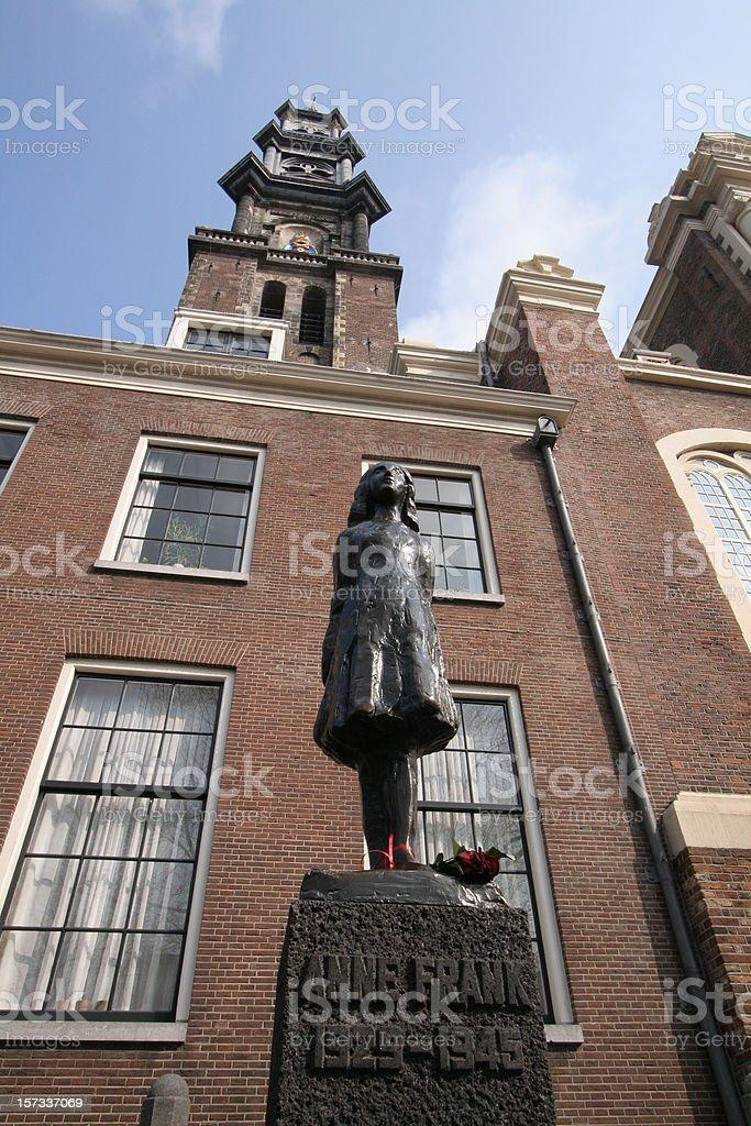 Casa di Anna Frank stock photo