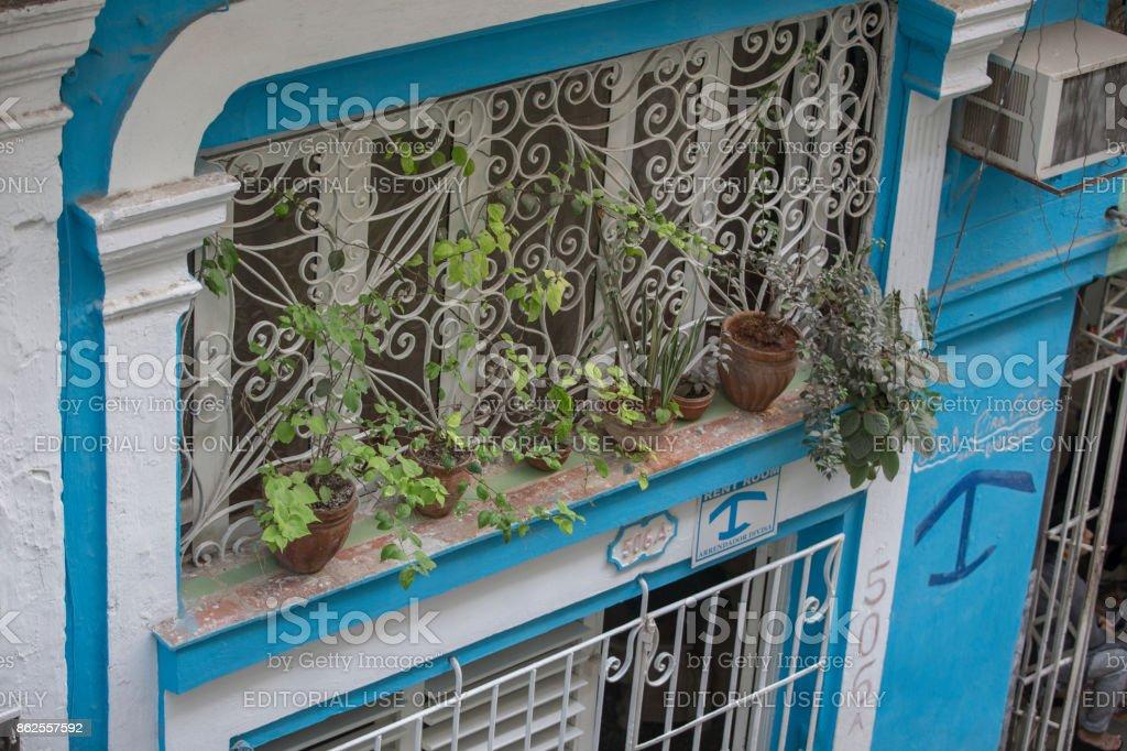Casa home hotel at havana, cuba stock photo