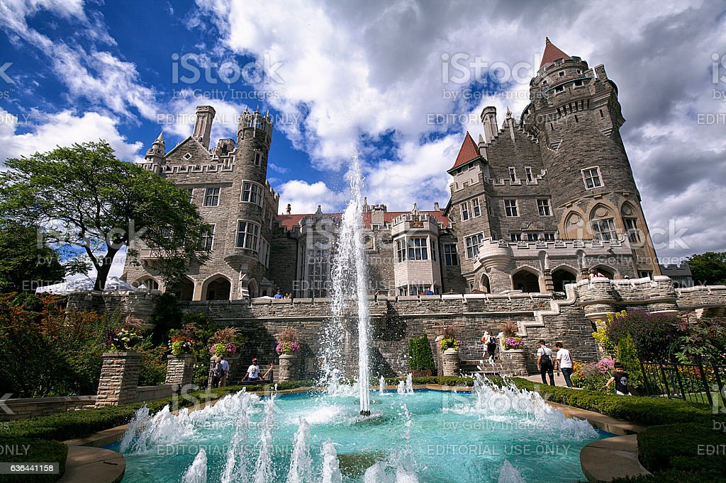 Casa Loma Castle, Toronto, Canada stock photo