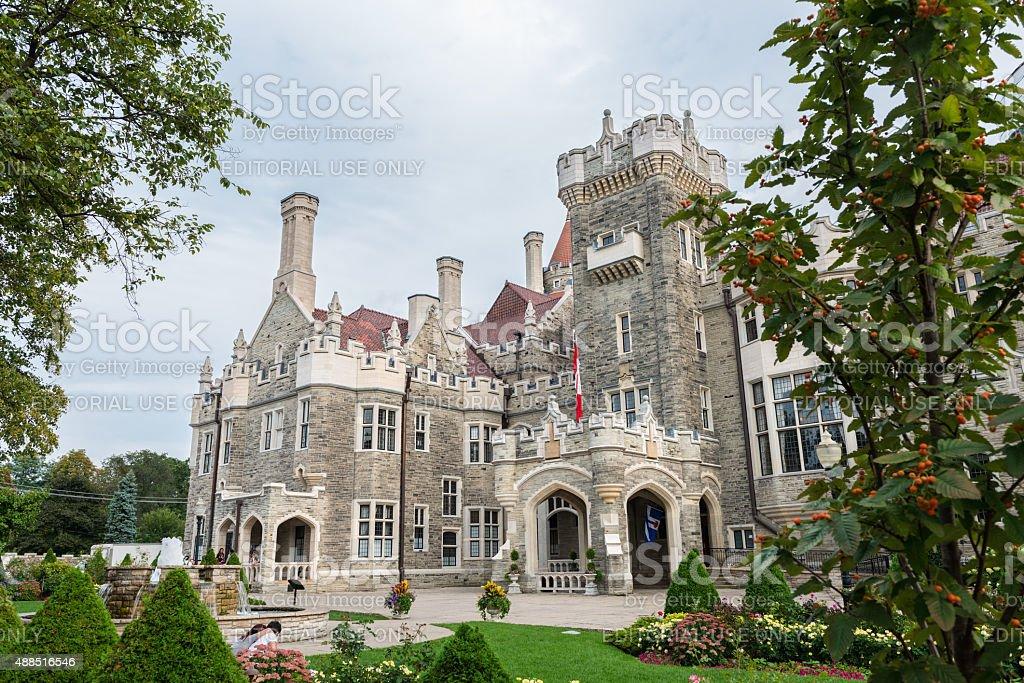 Casa Loma in Toronto, Canada stock photo