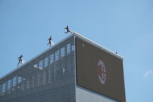 Casa Milan, Milan house headquarter building of AC Milan soccer club in Portello