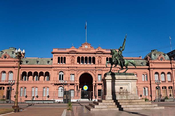 Casa Rosada Argentina's Governo assento em Buenos Aires - foto de acervo
