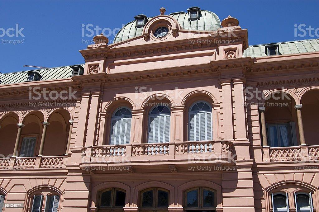 Casa Rosada, Buenos Aires, Argentina foto stock royalty-free
