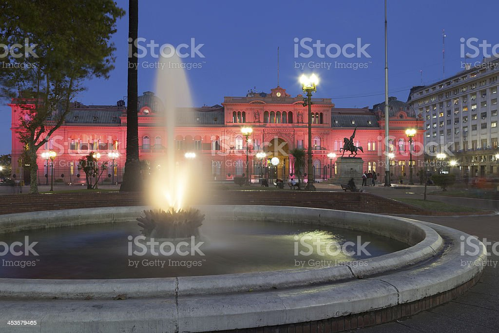 Casa Rosada, Buenos Aires stock photo