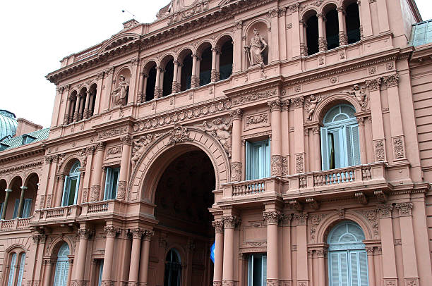 Casa Rosada in Buenos Aires, Argentina stock photo
