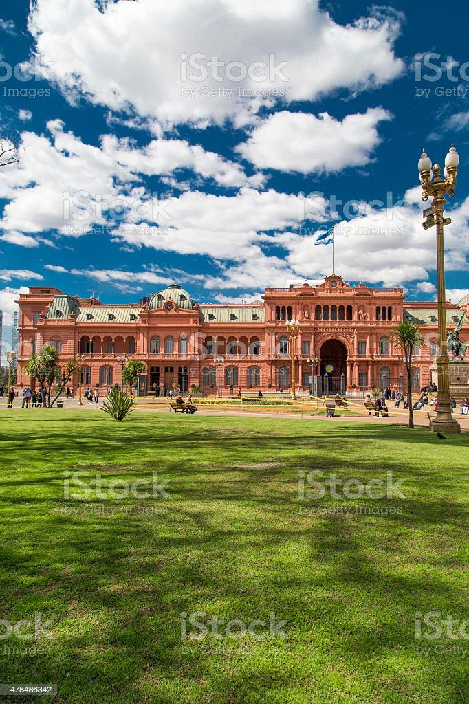 Casa Rosada in Buenos Aires - Argentina stock photo