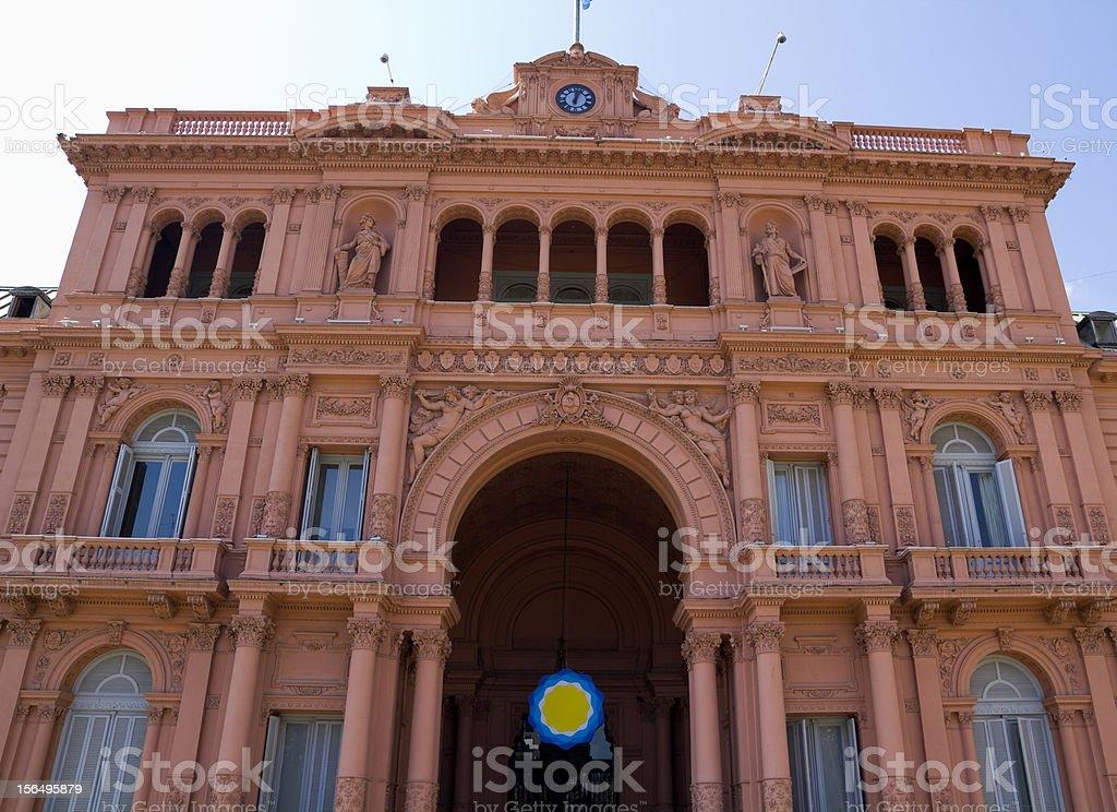 Casa Rosada (Pink House) stock photo