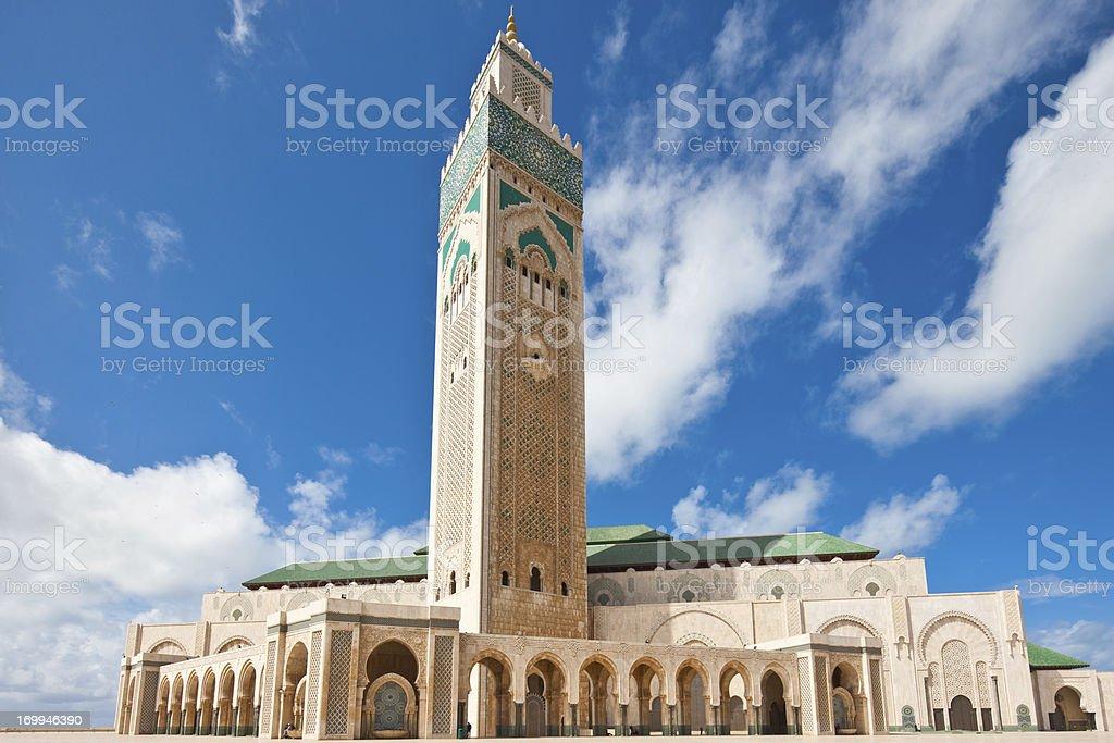 Casablanca Morocco Mosque royalty-free stock photo
