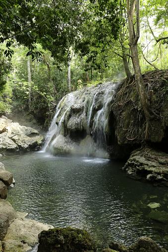 istock Casacadas Calientes El Paraiso - Hot Water Waterfall 805395016