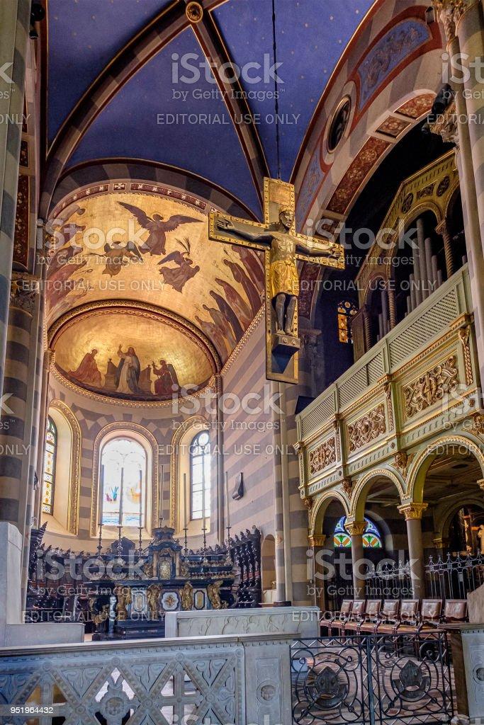 Casale Monferrato, the Cathedral - Italy stock photo