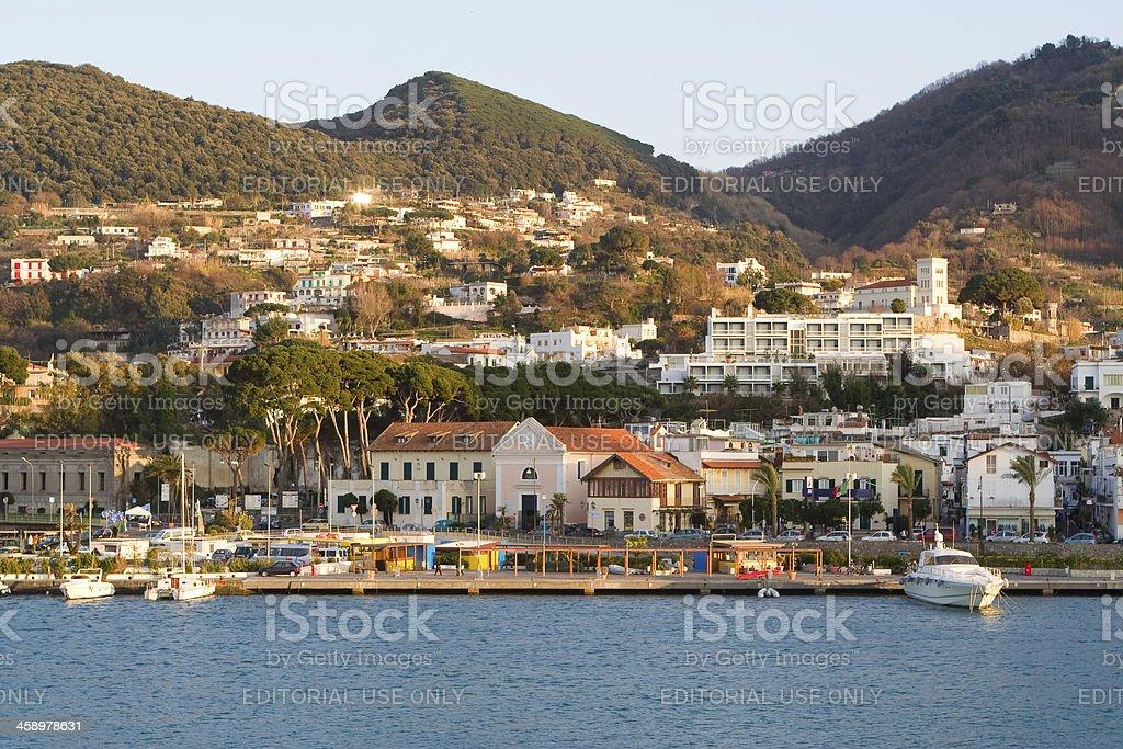 Casamicciola, Ischia Island, Bay of Naples, Italy. royalty-free stock photo