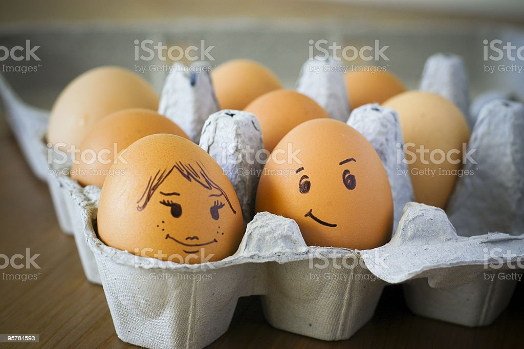 Casanova Egg stock photo
