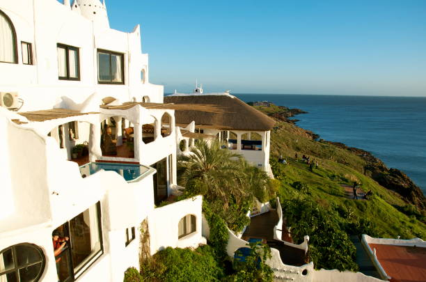 Casapueblo in Punta Del Este stock photo