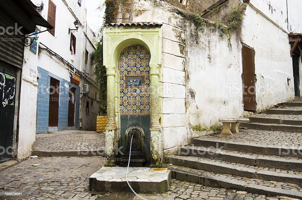 Casbah in Algiers stock photo