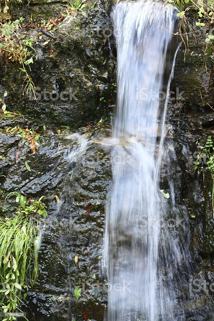 Cascada de agua royalty-free stock photo