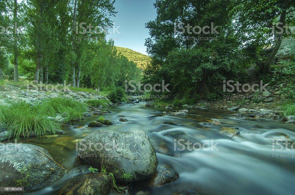 cascadas royalty-free stock photo