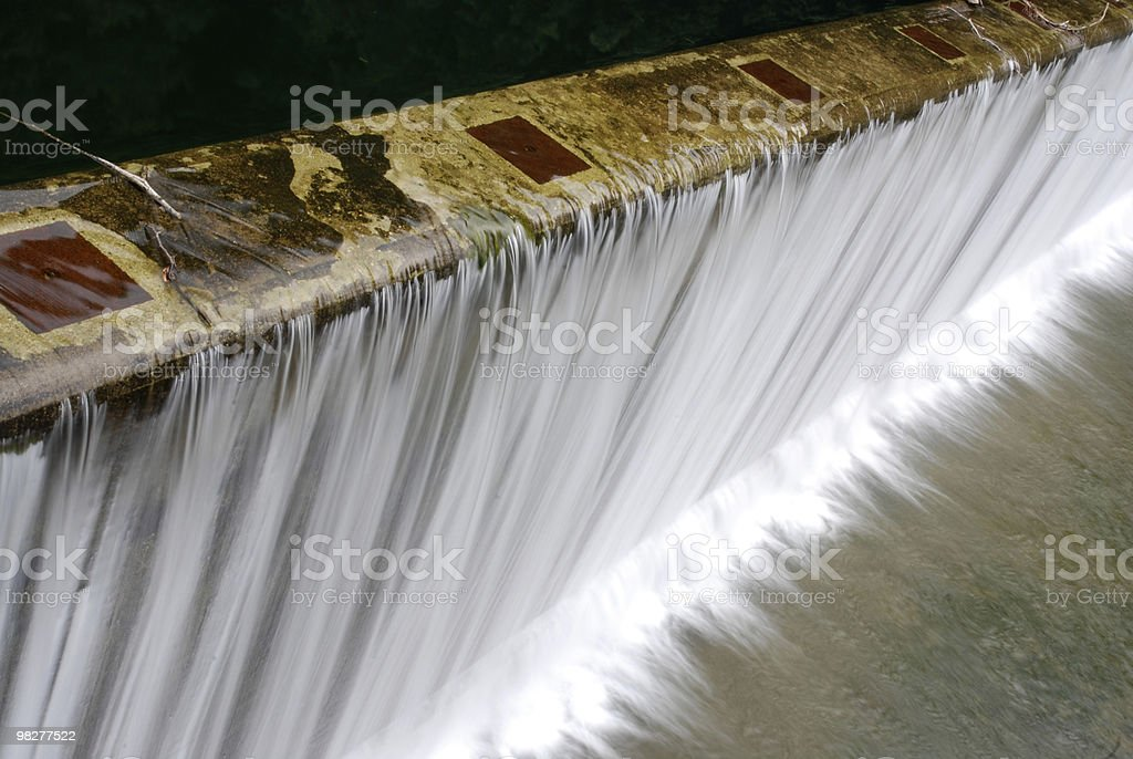 cascade and waterfall royalty-free stock photo