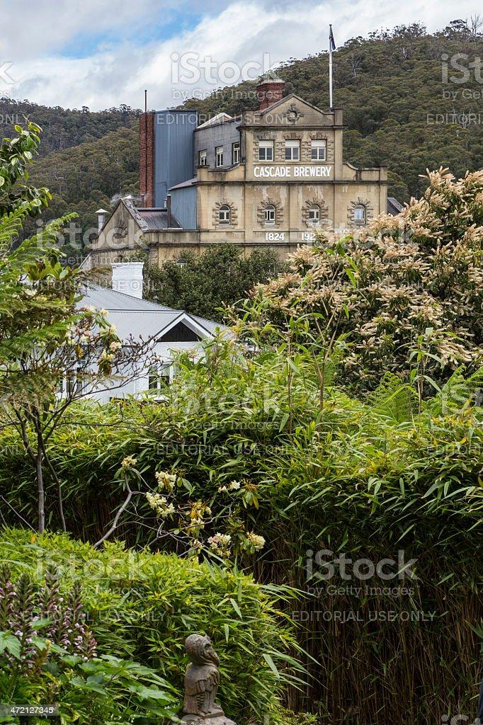 Cascade Brewery Tasmania stock photo