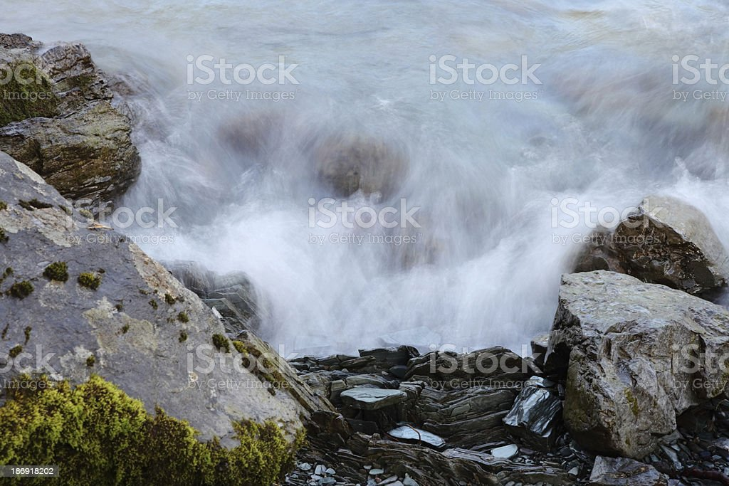 Cascade detail royalty-free stock photo