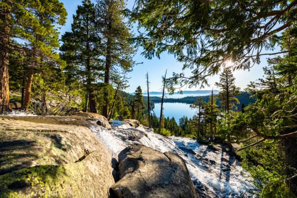 Cascade Falls stock photo