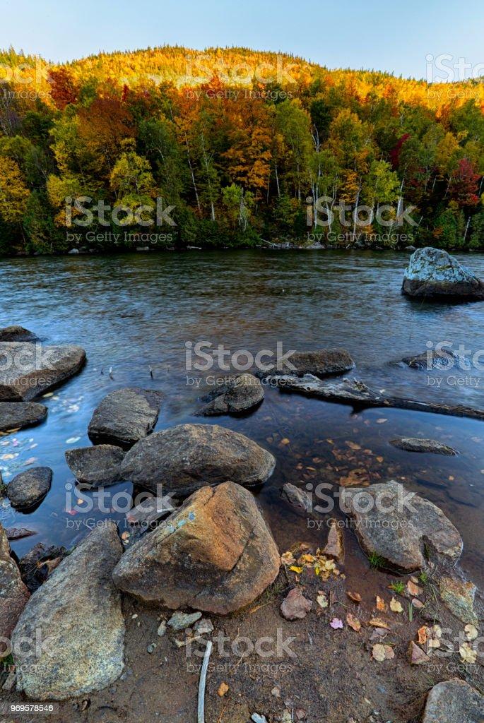 Cascade Lake stock photo