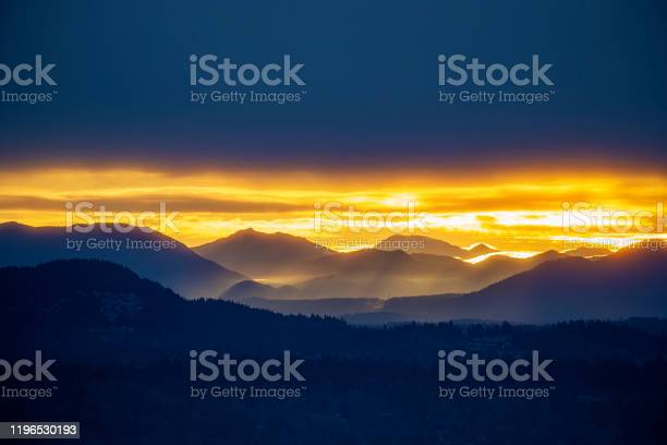 Photo of Cascade Mountain Range