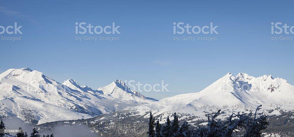 Cascade Mountains stock photo