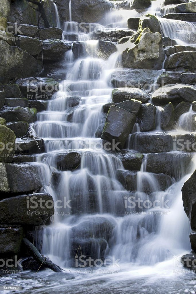 Cascade royalty-free stock photo