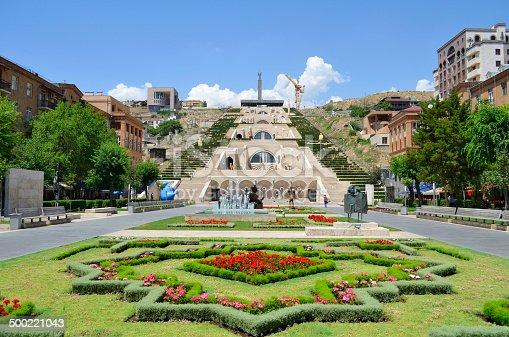 istock Cascade. Yerevan 500221043