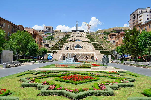 Cascade. Yerevan Cascade. Yerevan yerevan stock pictures, royalty-free photos & images