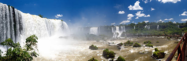 Cascades of Iguacu stock photo